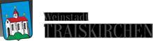 Weinfest in der Weinstadt Traiskirchen, Niederösterreich Logo